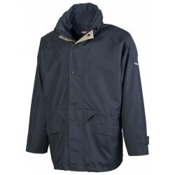 Parka 3 en 1 avec veste polaire amovible et capuche dans le col