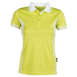 Polo sport respirant femme polyester Quick Dry, 140 g/m²
