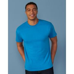 Tee-shirt coton jersey open-end, col rond, 185 g/m²