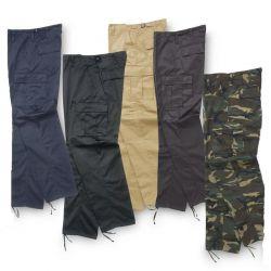 Pantalon de travail déperlant multipoche, revêtement hydrofuge