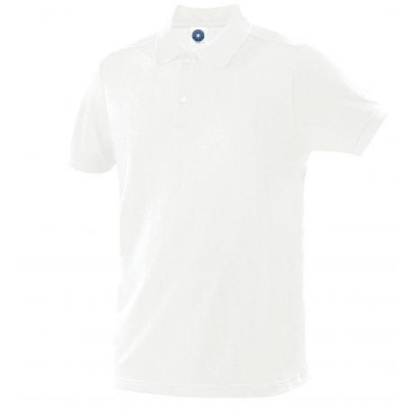 Polo coton bio certifié col 3 boutons pas cher, 200 g/m²