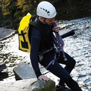 Sac à dos étanche SLX en bâche PVC rigide et solide, 25 litres