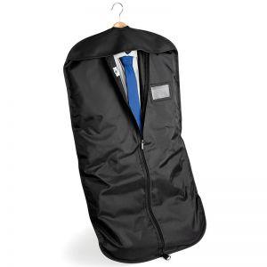 Housse porte-costume en polyester avec fermeture éclair complète