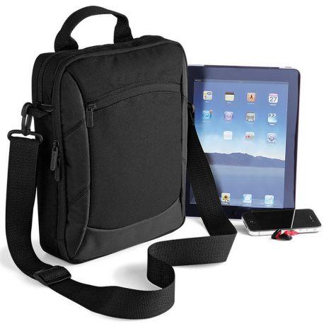Sacoche professionnelle noire pour ipad et tablettes