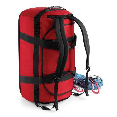 Sac de voyage cargo renforcé convertible en sac à dos, 68 litres