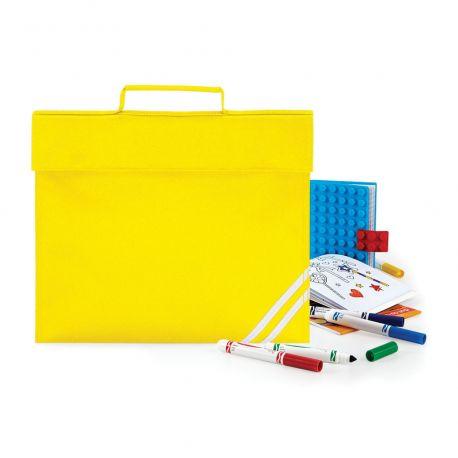 Sacoche enfant pour livres et documents A4 à visibilité renforcée