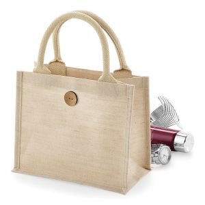 Petit sac shopping en juco, 75% jute, 25% coton
