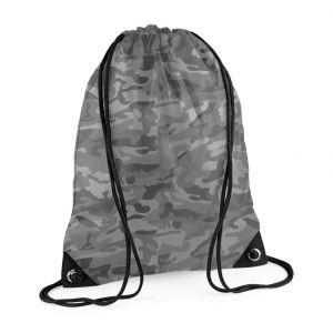 Sac de gym premium en polyester imperméable à bretelles