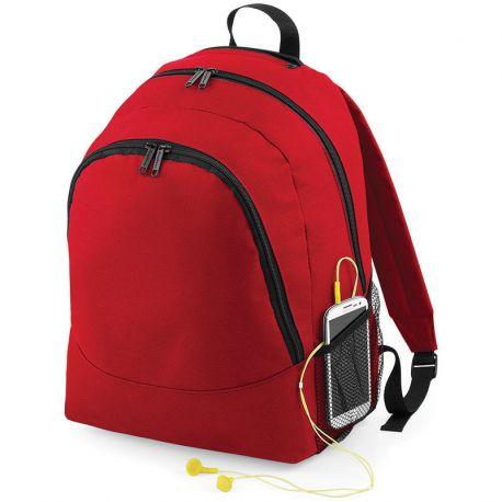 Sac à dos double compartiments, poches pour accessoires, 18 litres