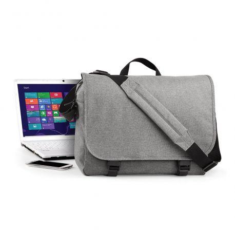 Sacoche tendance pour ordinateur portable, multi-poches, 11 litres