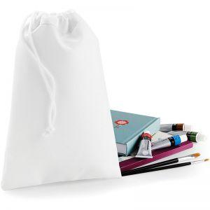 Petit sac de rangement en polyester spécial sublimation, avec cordon