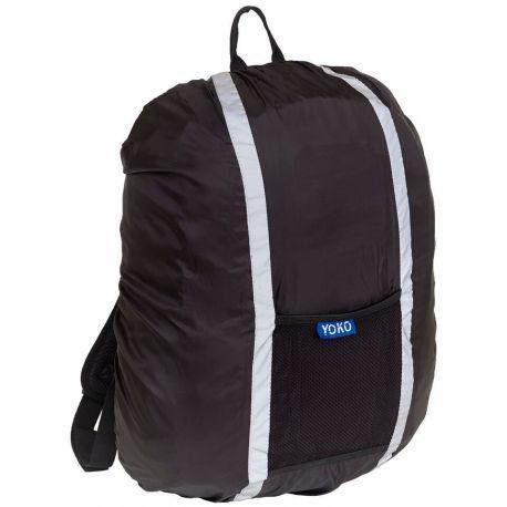 Housse avec bandes réfléchissantes pour sac à dos