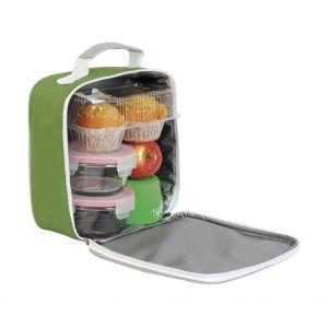 Sac panier-repas pour transporter son déjeuner, fermeture éclair