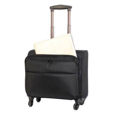 Valise d'affaires à 4 roues, plusieurs compartiments, 32 litres