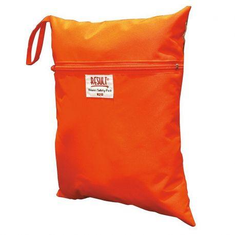 Pochette pour veste de sécurité, à ranger dans la boite à gants