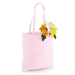 Tote bag, sac shopping coton vierge, 140 g/m²