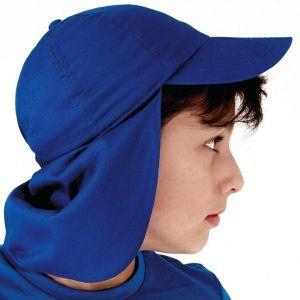 Casquette enfant avec protection contre le soleil pour le cou