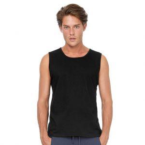 Débardeur homme coton jersey ringspun pré-rétréci, 145 g/m²