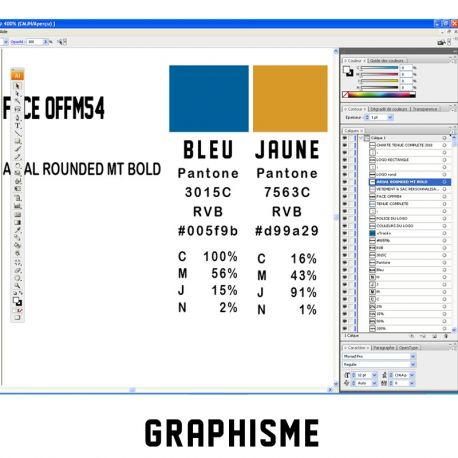 GRAPHISME : retouche logo pour texile