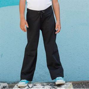 Legging noir pour enfant, 190g/m²