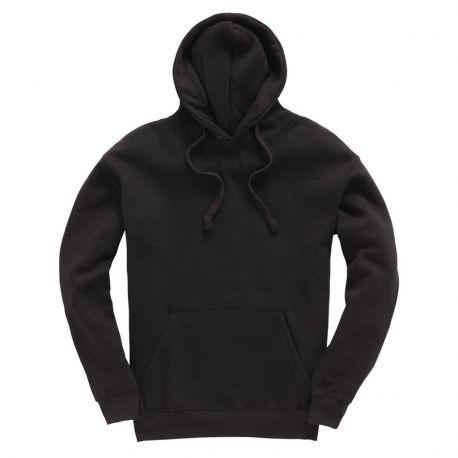 Sweat-shirt doux au touché avec capuche doublée, 310 g/m²