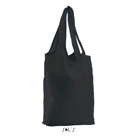 Sac shopping pliable, 100% polyester 190T