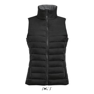 Veste doudoune sans capuche pour homme, nylon et polyester, 210 g/m²
