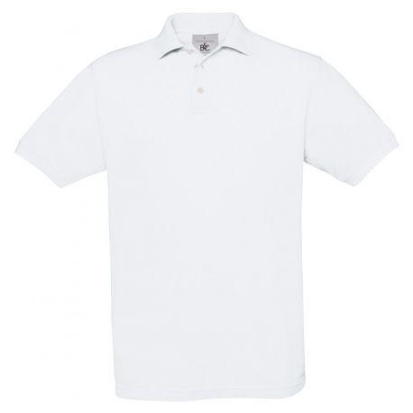 Polo safran homme manches courtes en coton ringspun, 180 g/m²