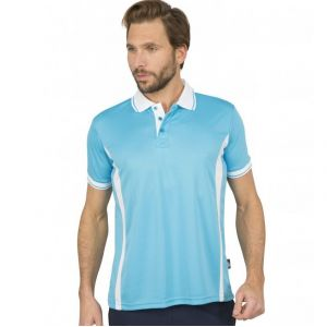 Polo sport respirant homme polyester Quick Dry, 140 g/m²