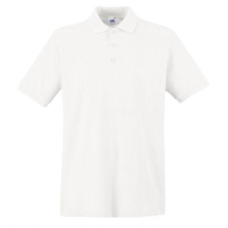Polo homme premium manches courtes coton, 180 g/m²