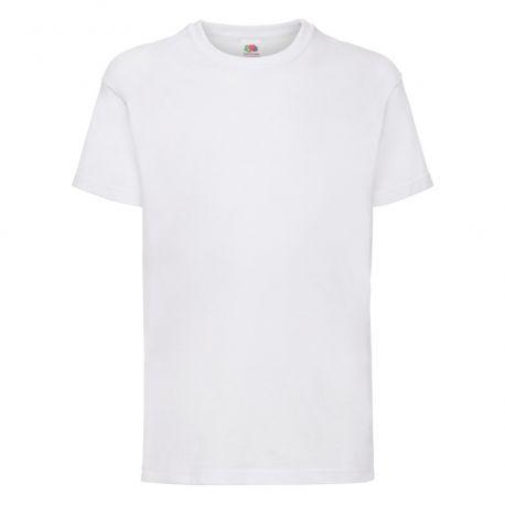 T-shirt ajusté enfant en coton jersey fil Belcoro, 165 g/m²