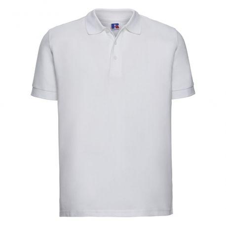 Polo homme en coton très résistant, lavable jusqu'à 60°C, 215 g/m²
