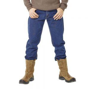 Pantalon de travail en jean épais avec 6 poches, 500 g/m²