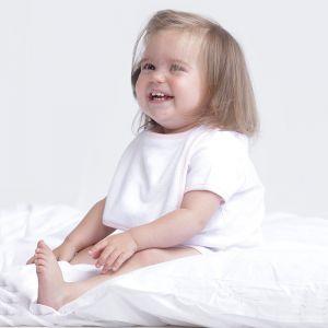 Bavoir bébé en tissu éponge waterproof et respirant, fermeture velcro