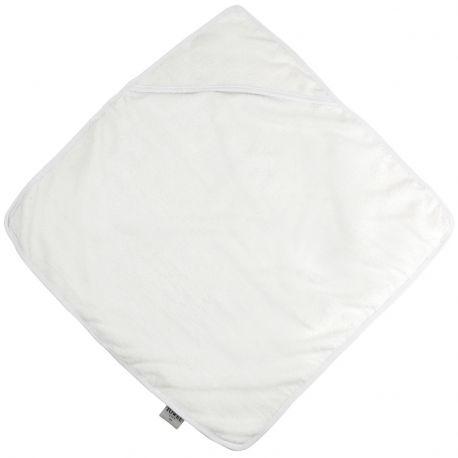 Cape de bain bébé avec capuche en coton, 360 g/m²
