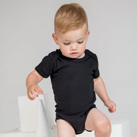 Body bébé manches courtes en coton, 200 g/m² pas cher