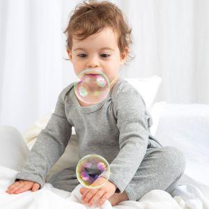 Gigoteuse bébé en coton doux et stretch à boutons pression, 200 g/m²