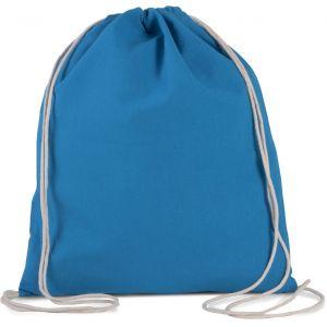 Petit sac à dos en coton bio avec cordelettes, 150 g/m²