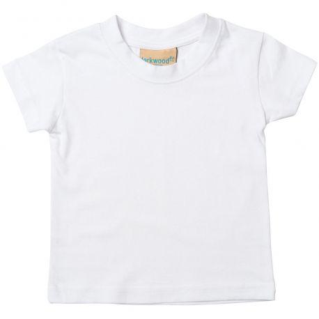 T-shirt bébé manches courtes montées en coton jersey, 160 g/m²