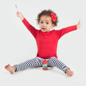 T-shirt manches longues bébé en coton jersey, 160 g/m²