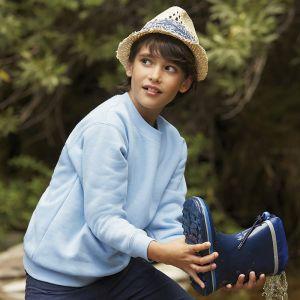 Sweat-shirt premium enfant set-in confortable en polycoton, 280 g/m²