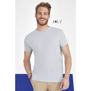 T-shirt homme col rond, 100% coton jersey, 150 g/m²