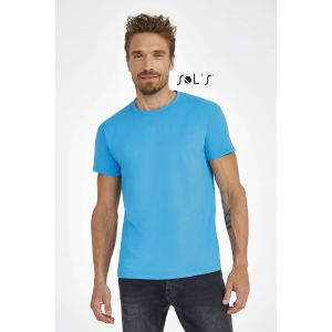 T-shirt homme col rond, 100% coton jersey, 190 g/m²