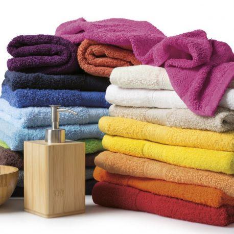 Serviette de toilette ou de bain pas cher en coton, 420 g/m²