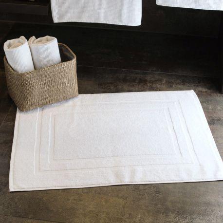 Tapis de bain de qualité Hôtel en coton, 50 x 70 cm, 700 g/m²