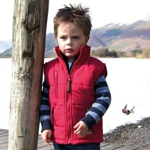 Bodywarmer gilet chaud pour enfant ultra-rembourré