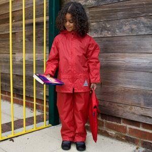 Ensemble veste et pantalon pour enfant imperméable et coupe-vent