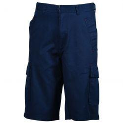 [PROMO] Bermuda poches plaquées en coton léger, taille réglable