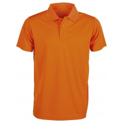 [PROMO] Polo sport respirant homme polyester, manches courtes, 140 g/m²