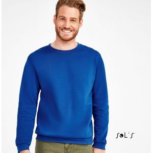 Sweat-shirt set it NO LABEL en polycoton, molleton gratté, 260 g/m²
